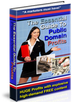 Product picture  The Essential Guide to Public Domain Profits