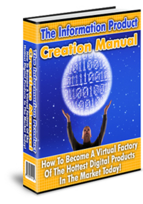 Product picture The Information Product Creation manual