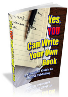 Product picture  Yes, YOU Can Write Your Own Book